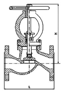 клапан запорный диаметр условного прохода 25